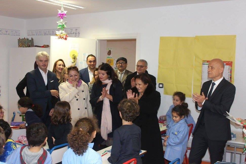 Visite de Monsieur l'Ambassadeur de France en Tunisie